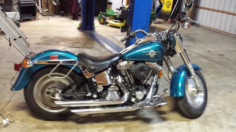 Photo of a 1994 Harley-Davidson® FLSTF Fat Boy®