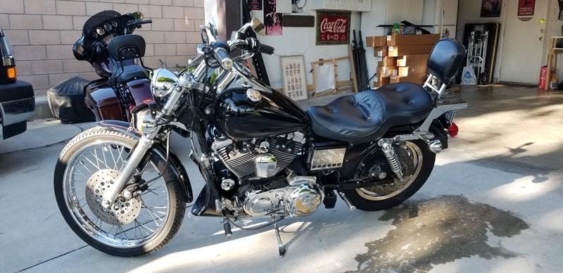 Photo of a 1996 Harley-Davidson® XL1200C Sportster® 1200 Custom