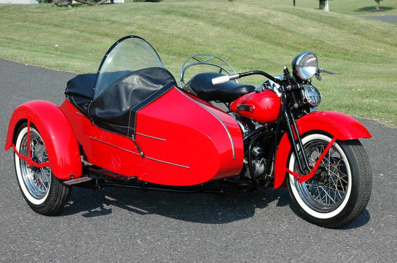 Photo of a 1947 Harley-Davidson® FL Special Sport Solo Knucklehead