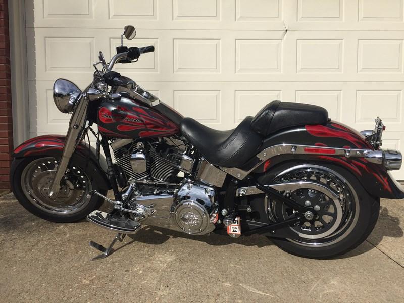 Photo of a 2013 Harley-Davidson® FLSTF Softail® Fat Boy®