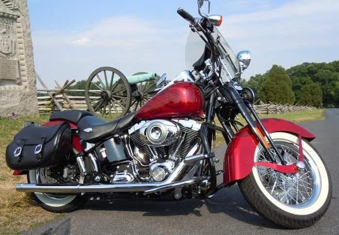 Harley Dealers In Florida >> 2007 Harley-Davidson® FLSTSC Softail® Springer® Classic (Red), St Augustine, Florida (714369 ...