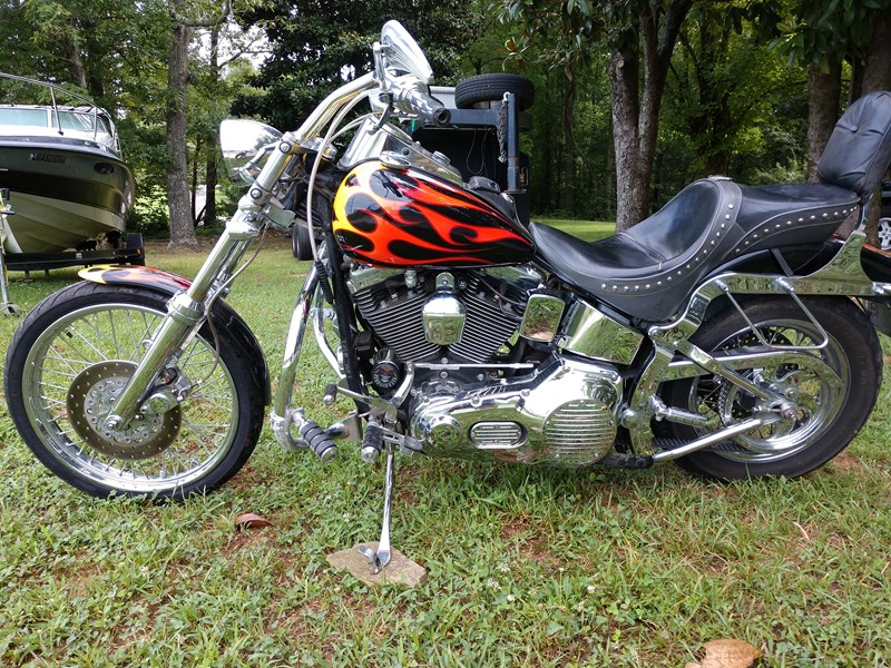 Photo of a 1999 Harley-Davidson® FXSTC Softail® Custom