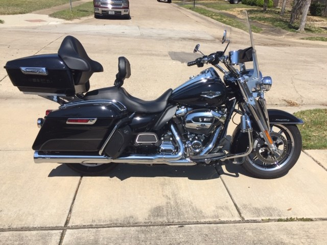 2017 Harley Davidson 174 Flhr Road King 174 Black Carrollton