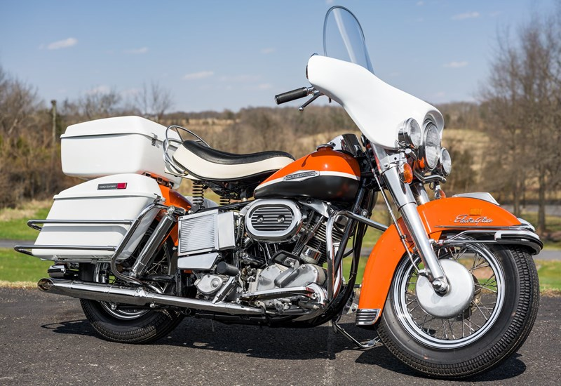Photo of a 1969 Harley-Davidson® FL Electra Glide® Sport Police Special