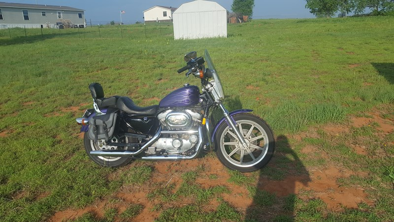 Photo of a 1992 Harley-Davidson® XL883H Sportster® 883 Hugger®