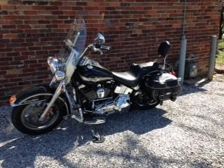 Photo of a 2003 Harley-Davidson® FLSTC/I-ANV Heritage Softail® Classic Anniversary