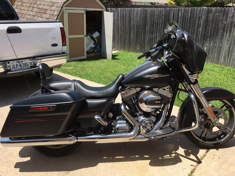 2015 Harley Davidson Flhxs Street Glide Special Flat Black