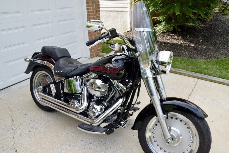 Photo of a 2007 Harley-Davidson® FLSTF Softail® Fat Boy®