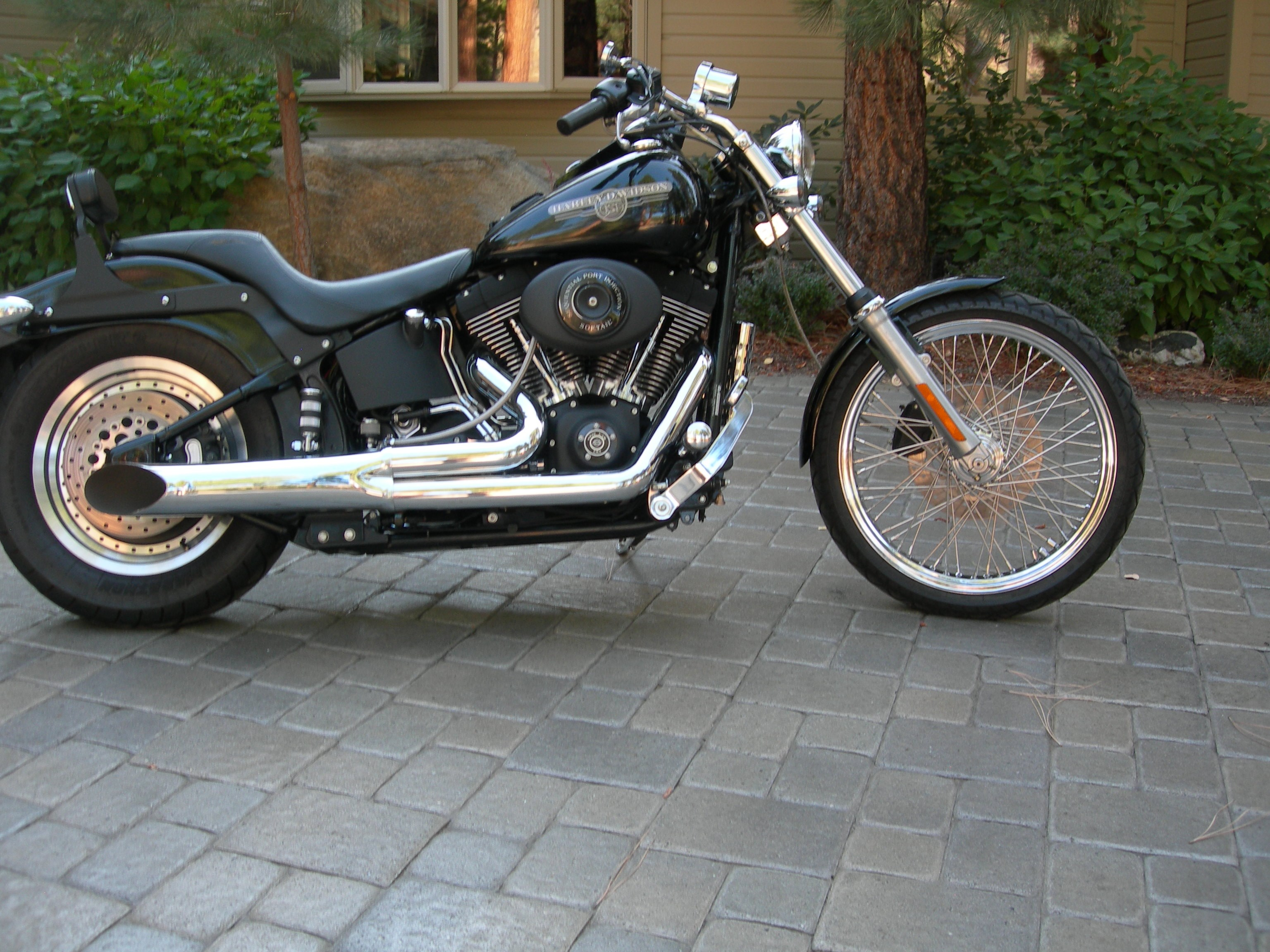 Harley Davidson Softail Fuel Octane