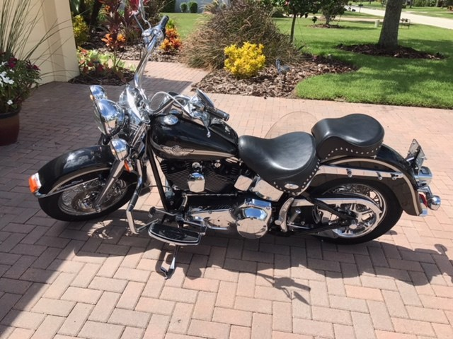 Photo of a 2003 Harley-Davidson® FLSTC/I-ANV Heritage Softail® Classic Anniversary