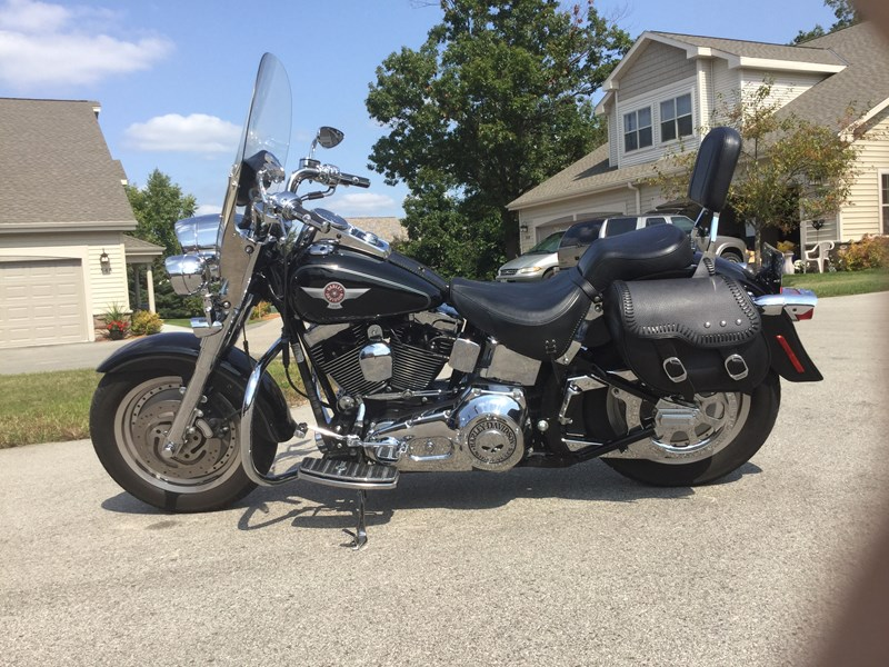 Photo of a 2006 Harley-Davidson® FLSTF/I Softail® Fat Boy®