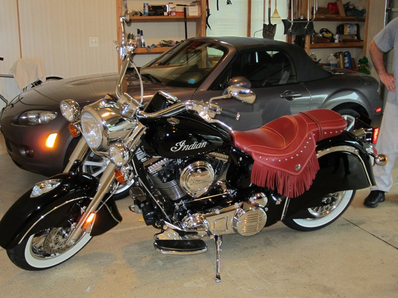 Photo of a 2009 Indian®  Chief® Deluxe