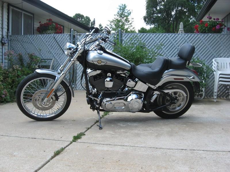 Photo of a 2003 Harley-Davidson® FXSTD/I-ANV Softail Deuce Anniversary