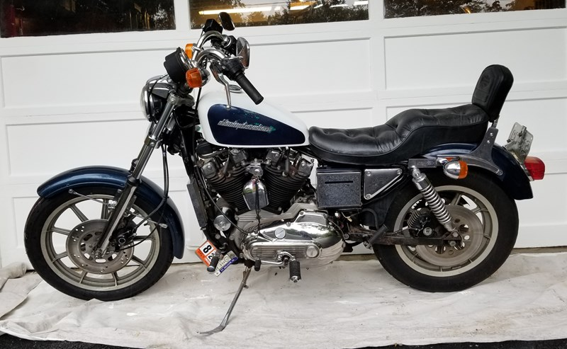 Photo of a 1985 Harley-Davidson® XLH-1000 Sportster® 1000