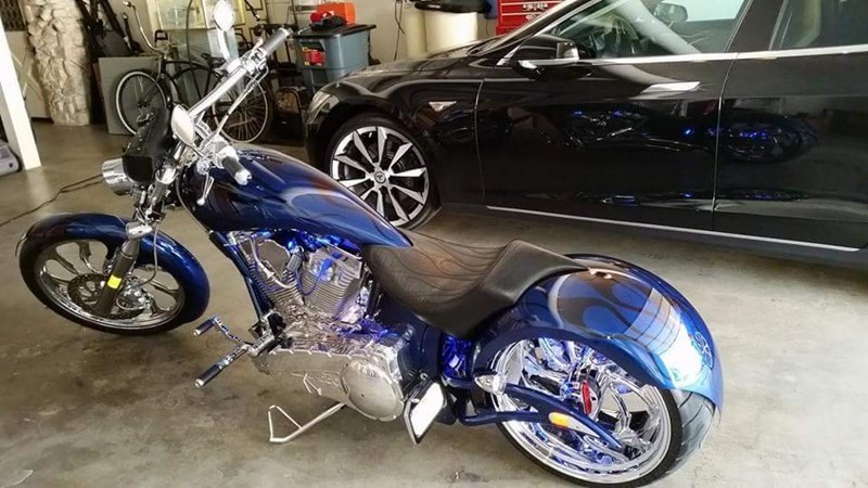 Photo of a 2009 Big Bear Choppers  Devil's Advocate ProStreet
