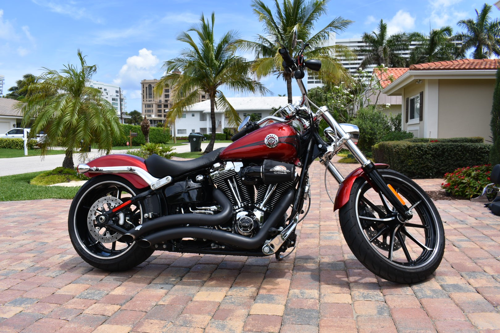 all new used harley davidson softail breakout for sale 709 bikes page 1 chopperexchange. Black Bedroom Furniture Sets. Home Design Ideas