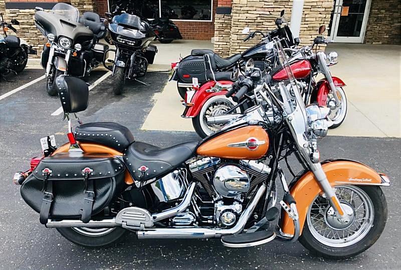 Photo of a 2016 Harley-Davidson® FLSTC Heritage Softail® Classic