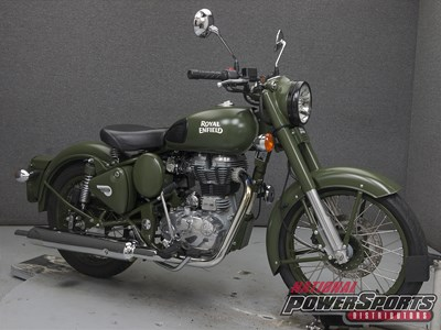 Used 2016 Royal Enfield Bullet Classic Military