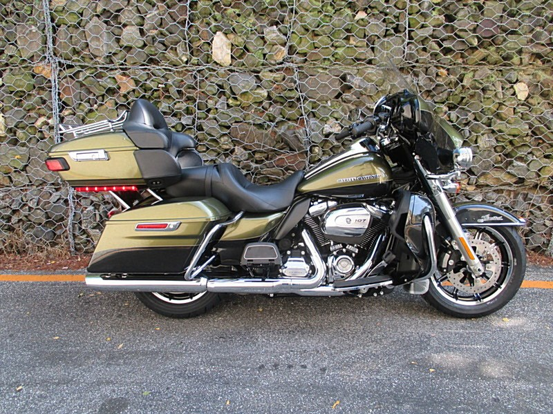 2018 Harley-Davidson® FLHTK Ultra® Limited (Olive Gold ...