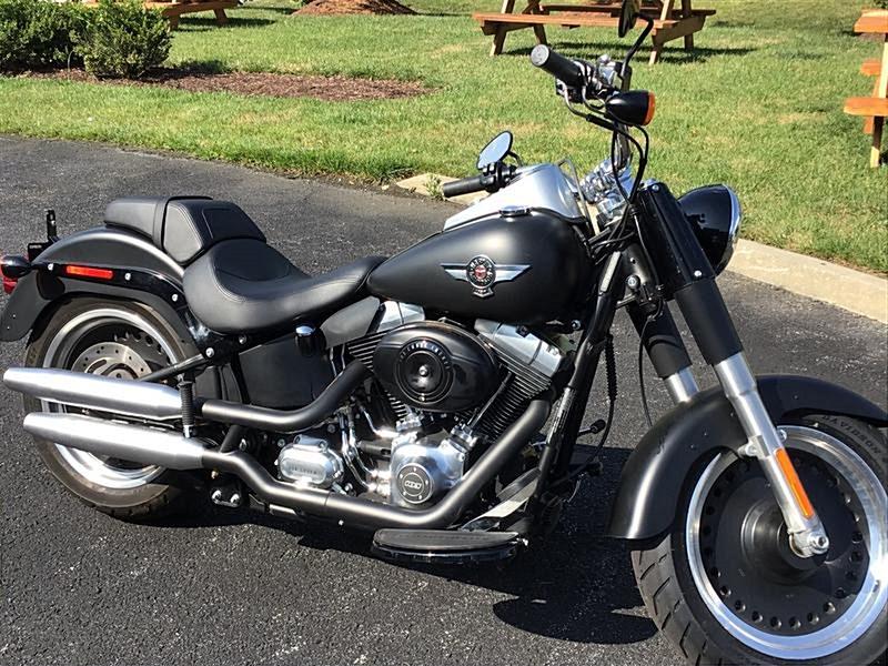 Photo of a 2013 Harley-Davidson® FLSTFB Softail® Fat Boy® Lo