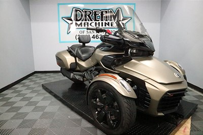 Used 2019 Can-Am Spyder F3-T
