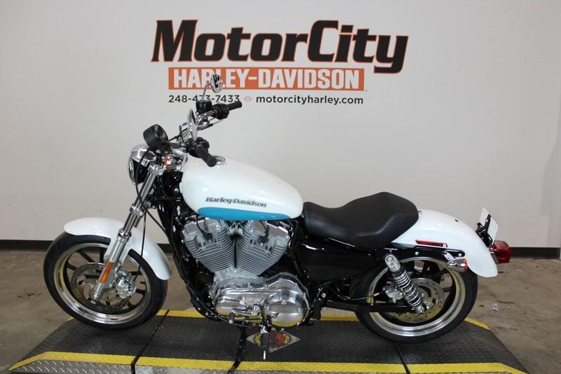 2017 Harley Davidson Xl883l Sportster Superlow Crushed