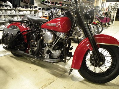 Used 1950 Harley-Davidson® Hydra-Glide Sport Solo Panhead