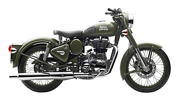 Photo of a 2017 Royal Enfield  Classic Battle Green