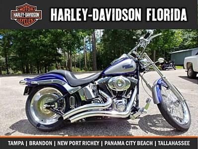 2007 Harley DavidsonR FXSTC SoftailR Custom