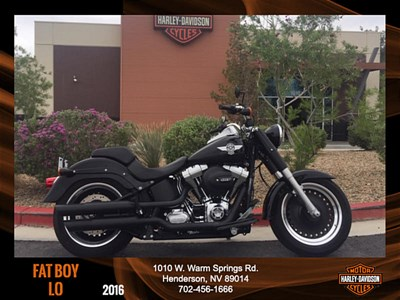 Used 2016 Harley-Davidson® Softail® Fat Boy® Lo