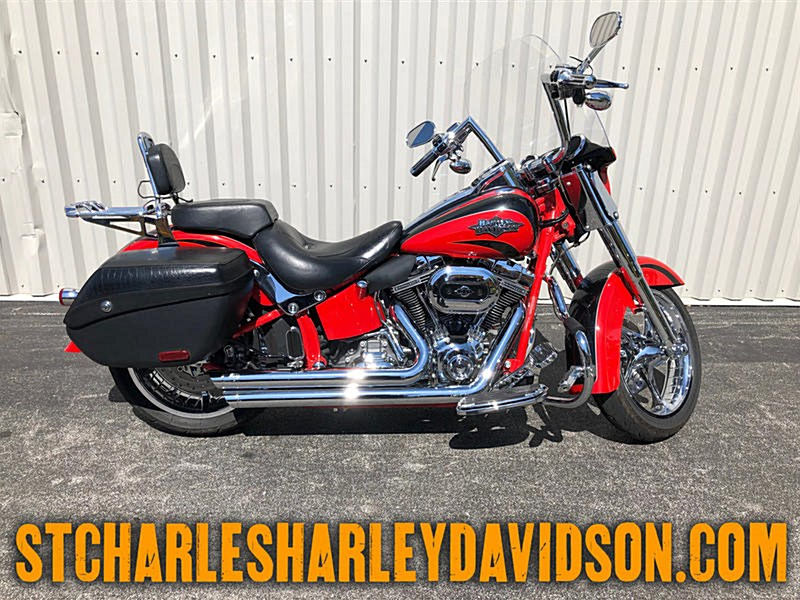 Photo of a 2011 Harley-Davidson® FLSTSE2 CVO™ Softail® Convertible