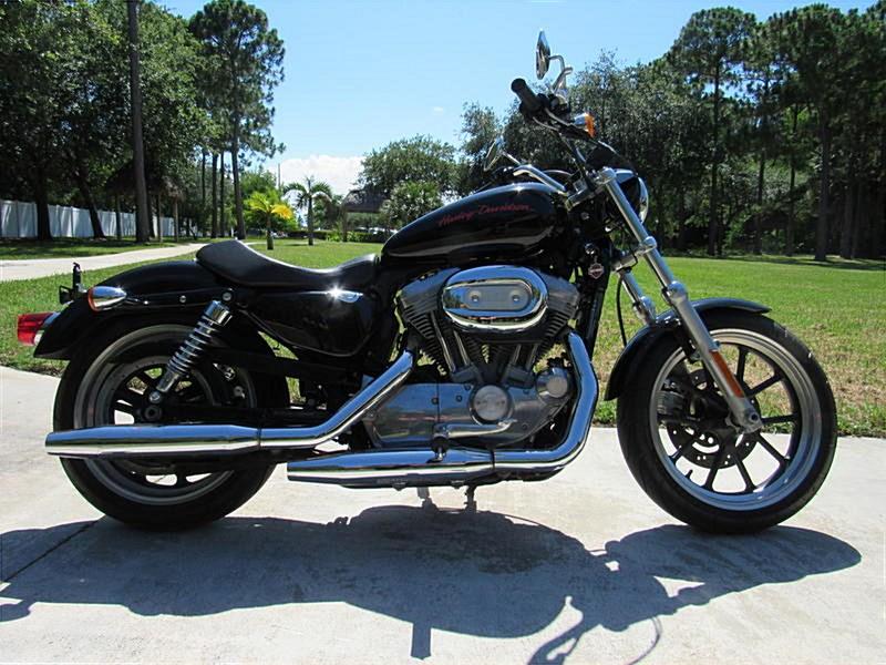 Photo of a 2013 Harley-Davidson® XL883L Sportster® 883 Superlow™