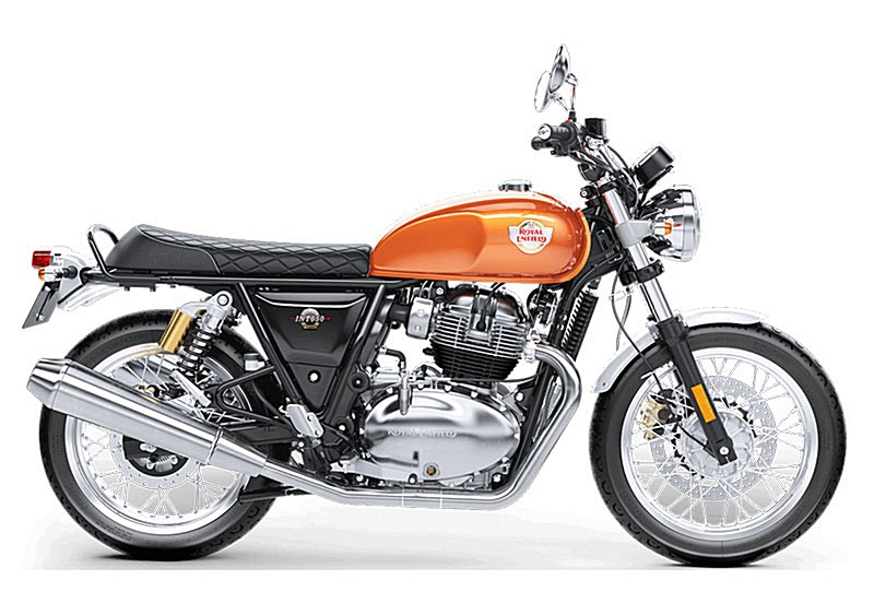 Photo of a 2019 Royal Enfield  Int650 Silver