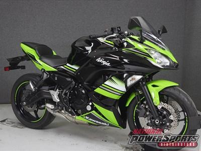 Used 2017 Kawasaki Ninja® 650