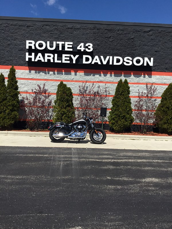 Photo of a 2018 Harley-Davidson® XL1200C Sportster® 1200 Custom