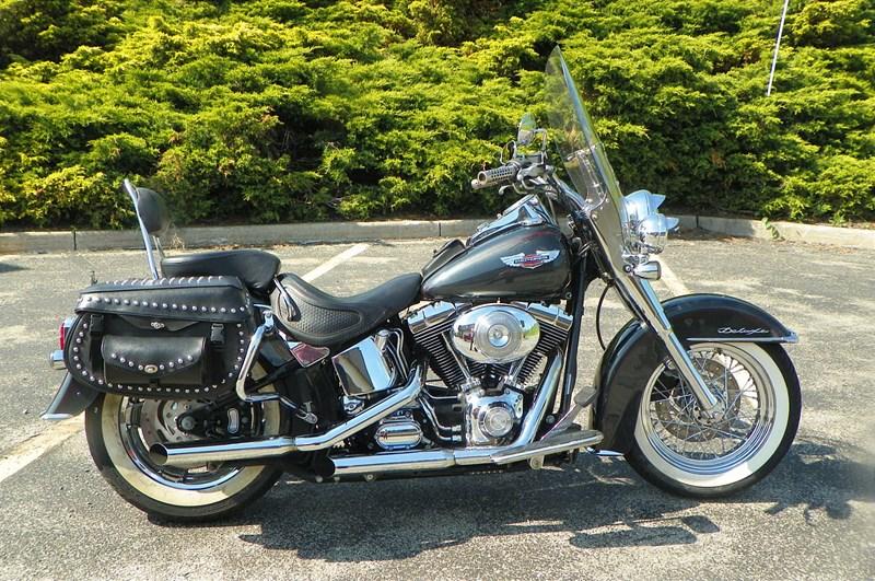 Photo of a 2005 Harley-Davidson® FLSTN/I Softail® Deluxe