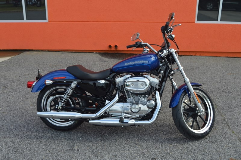 2016 harley davidson xl883l sportster superlow superior blue winterville north carolina. Black Bedroom Furniture Sets. Home Design Ideas