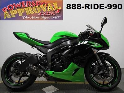 Used 2011 Kawasaki Ninja ZX-6R