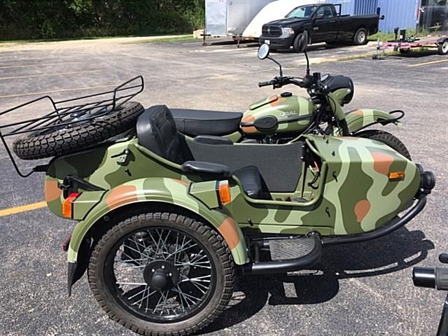 2018 Ural Gear-Up w/Sidecar (Woodland Camo), Marengo