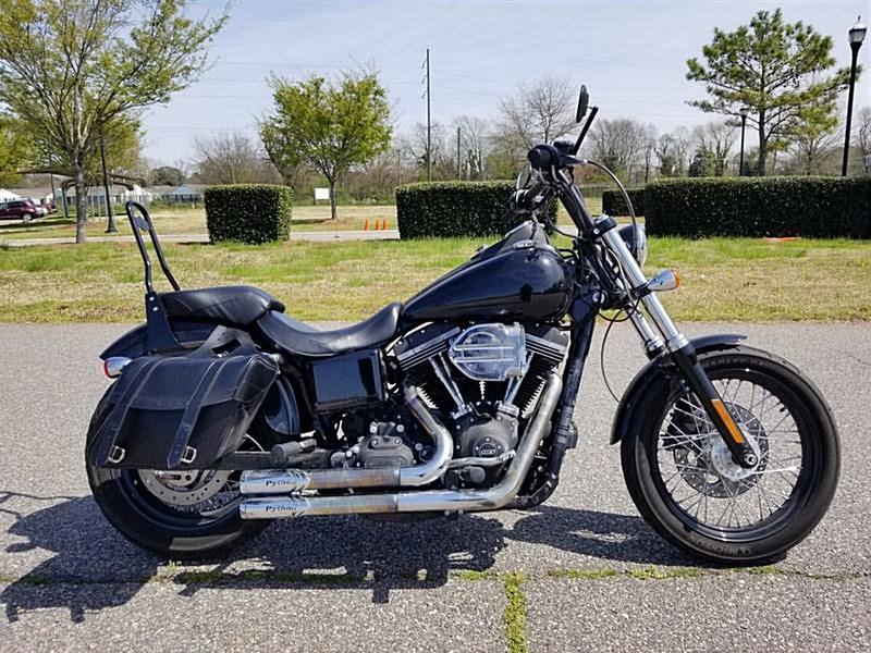 Photo of a 2015 Harley-Davidson® FXDB Dyna® Street Bob®