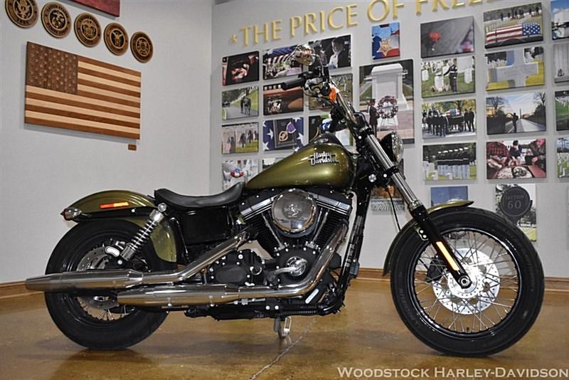 Photo of a 2016 Harley-Davidson® FXDB Dyna® Street Bob®