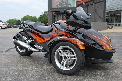 Used 2008 Can-Am Spyder RS
