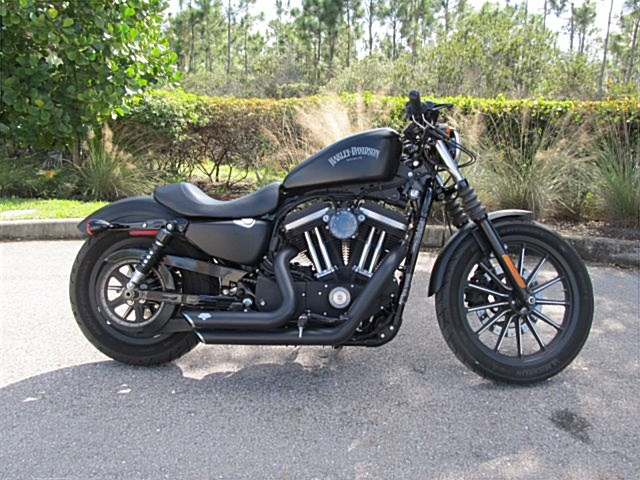 Photo of a 2015 Harley-Davidson® XL883N Sportster® Iron 883™