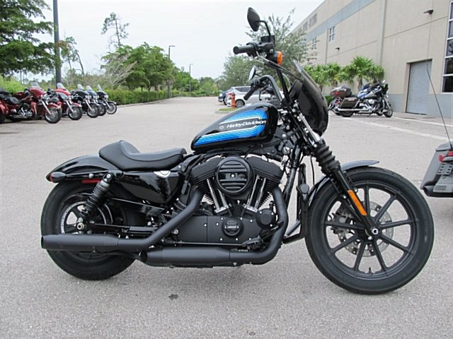 Photo of a 2018 Harley-Davidson® XL1200NS Sportster® Iron 1200™