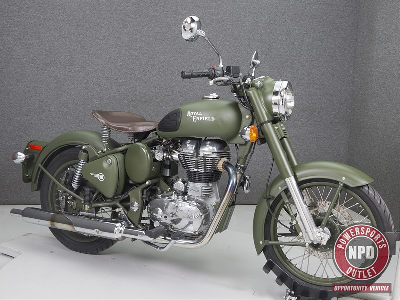 Photo of a 2010 Royal Enfield C5 Bullet Classic