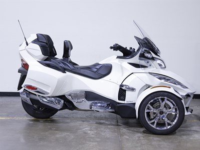 Used 2019 Can-Am Spyder RT Limited Chrome
