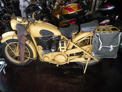 Used 1941 BSA M20 African Campaign