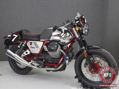 Used 2014 Moto Guzzi Street V7 Racer