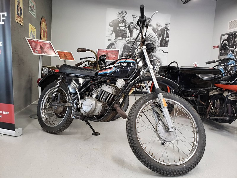 Photo of a 1975 Harley-Davidson® SX 175