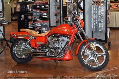 Used 2001 Harley-Davidson® CVO Wide Glide Switchblade